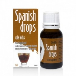 Gotas Spanish Drops Cola Kicks 15ml
