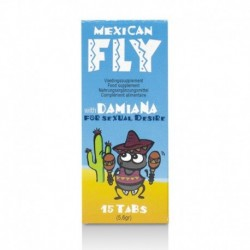 Afrodisiaco Mexican Fly 15 Tabs